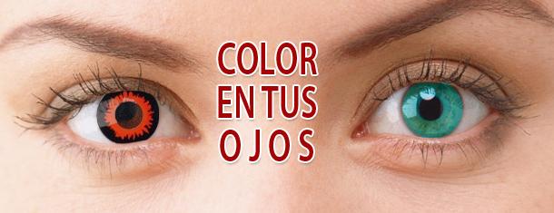 """Las lentes de contacto coloreadas, te ofrecen un abanico de color en tus ojos… ¿pero las utilizas de un modo correcto además de para """"verte"""" bien?.  Las lentes de contacto… Me Interesa"""