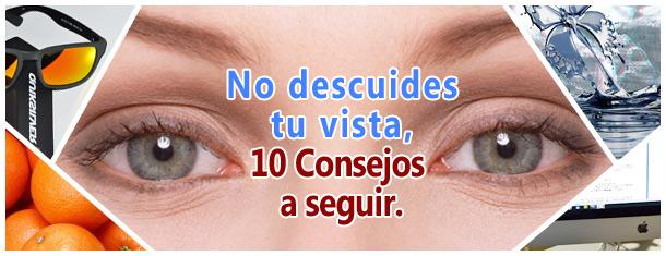 Hoy te damos 10 consejos para mantener tu vista como nueva. 1. Una vez al año, no hace daño… Al contrario, visitar al optometrista cada uno o dos años es lo más… Me Interesa