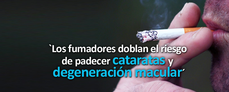 Los fumadores tienen el doble de posibilidades de tener degeneración macular y entre dos y tres veces de sufrir cataratas que los que no fuman  Según se desprende de un… Me Interesa